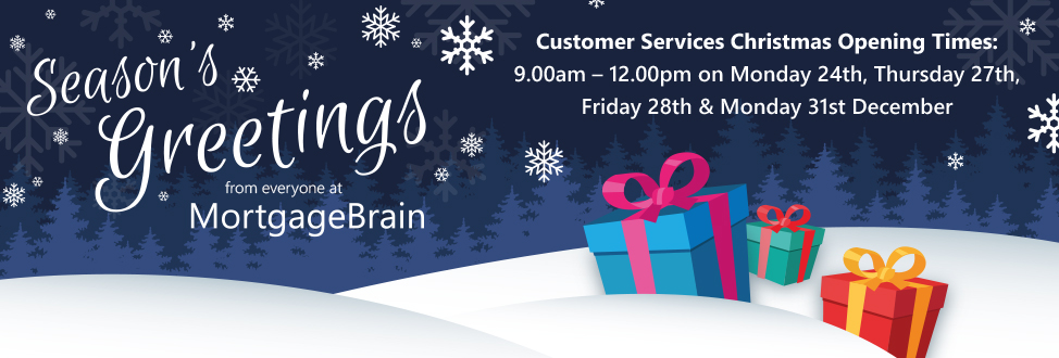 Happy Christmas from everyone at MortgageBrain