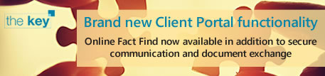 Securely communicate and exchange documents with your clients via Online Client Portal