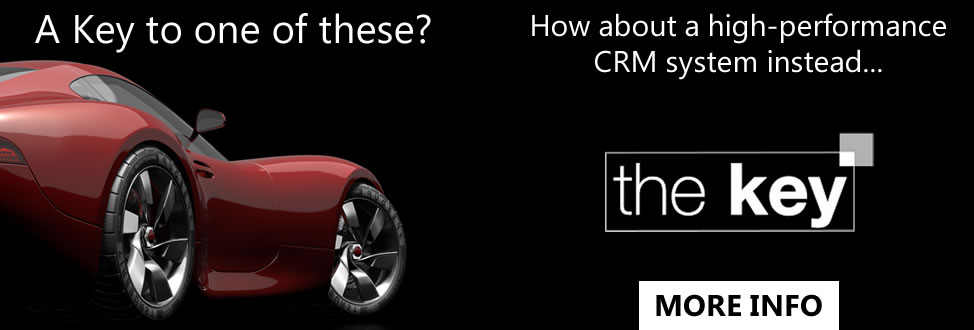 The Key, click for more information about our high-performance CRM system...
