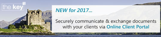 NEW for 2017... Securely communicate and exchange documents with your clients via Online Client Portal