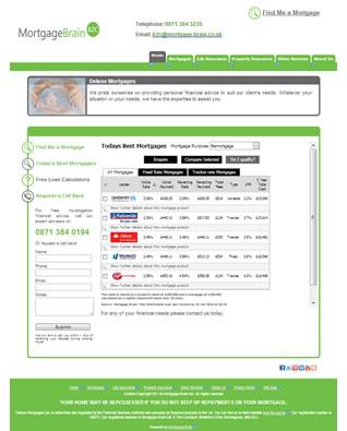 mortgagebrain b2c website templates. Black Bedroom Furniture Sets. Home Design Ideas
